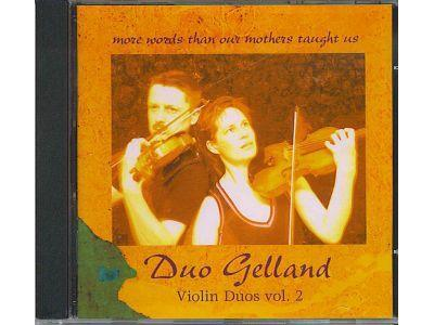 Violin Duos vol 2: More words than our mothers taught us