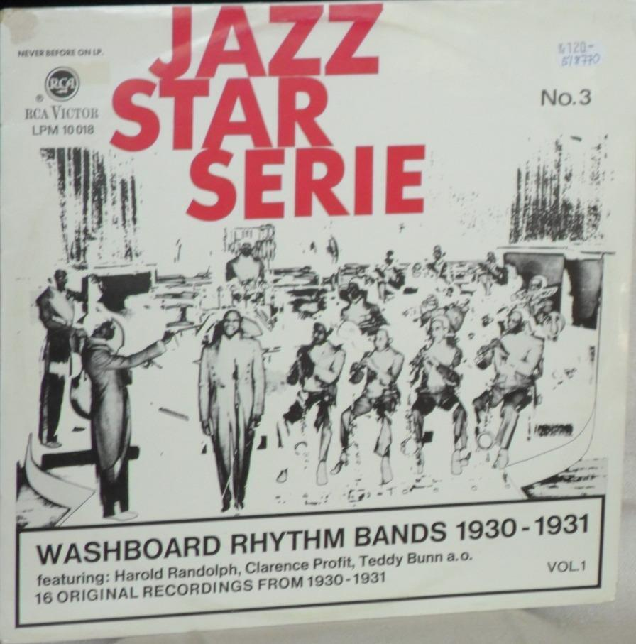 Jazz Star Serie No 3: Washboard Rhythm Bands 1930-31, Vol 1
