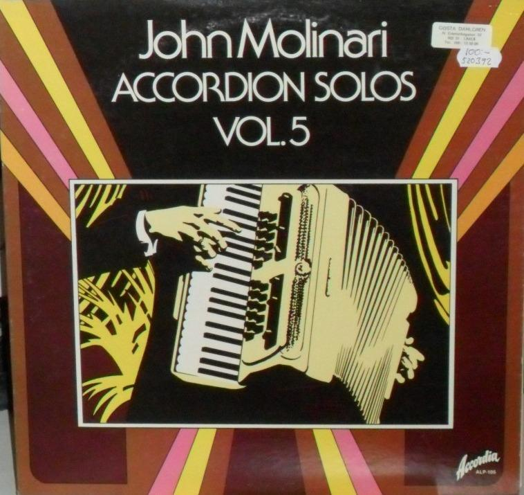 Accordion solos, vol 5