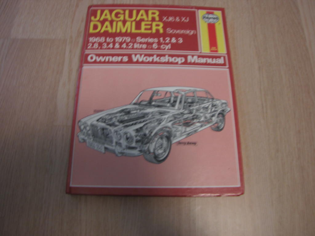 Jaguar Daimler owners workshops manual