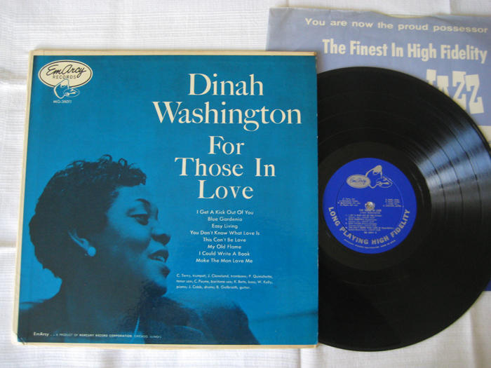 Dinah Washington, For those in love