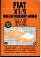Fiat and x1/9 1974-82 owners workshop manual