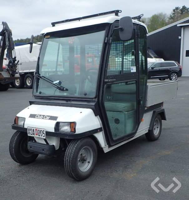 CLUB CAR CARRYALL 2 Elfordon med hytt & flak - 06
