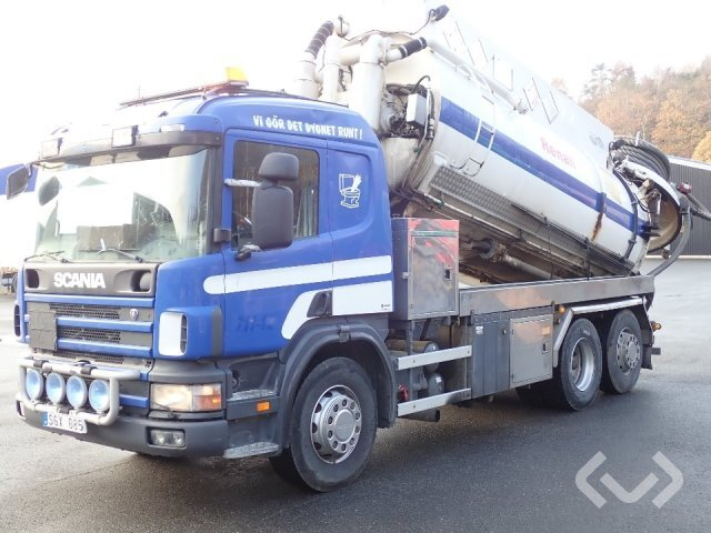 Scania P114GB4NA340 6x2 Slam-sugbil - 01