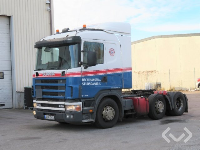 Scania R124 6x2 Dragbil (pusher) - 04
