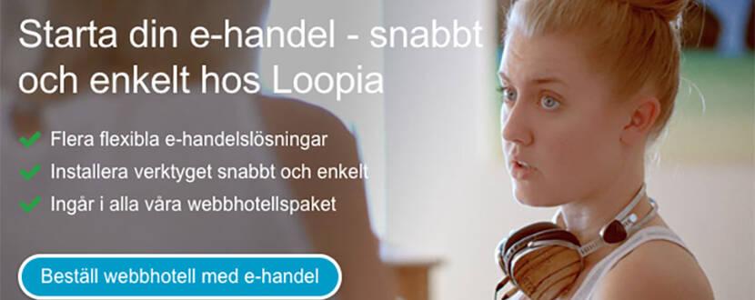 Hög användarvänlighet hos Loopia