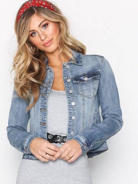Köp Jeansjackor från Vila för Kvinna Online | FASHIOLA.se